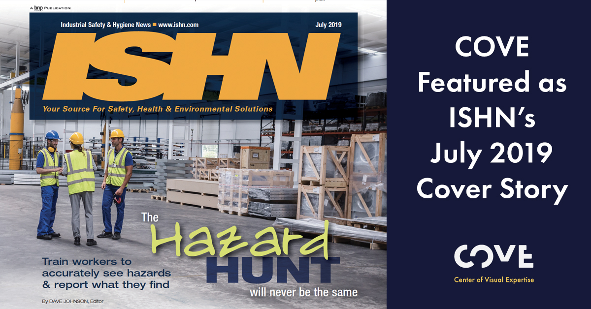 ISHN Featured Article:  The Hazard Hunt will never be the same